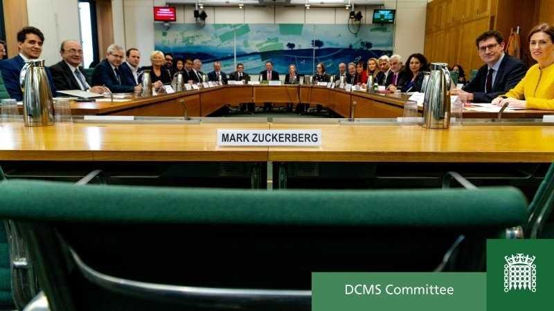 Anhörung im britischen Parlament: Facebook immer mehr im Kreuzfeuer