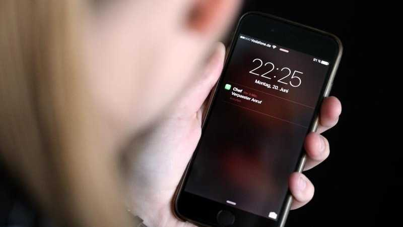 Erreichbar auf dem Smartphone