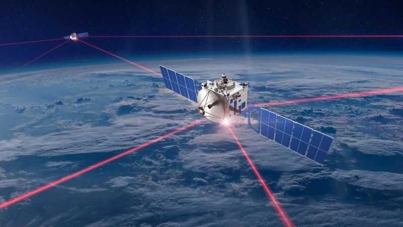 Kommunikation mit Laser
