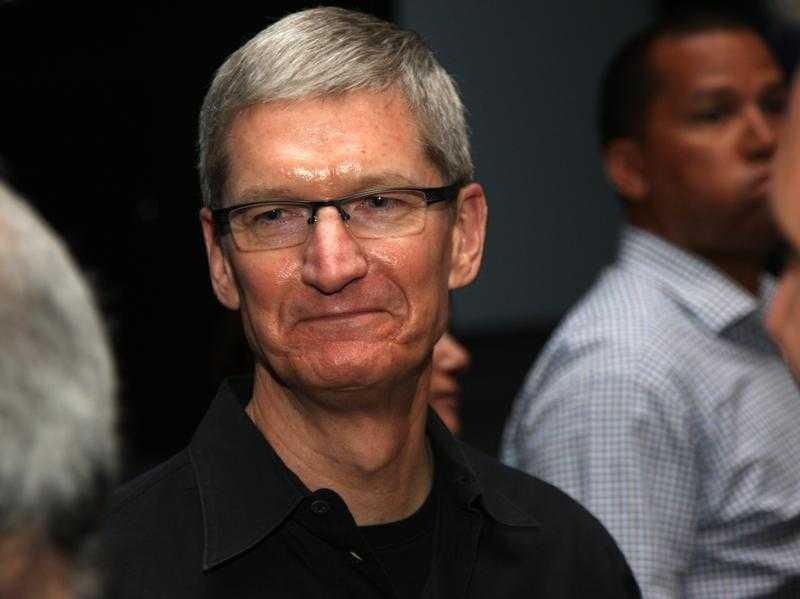 Apple-Konzernchef Tim Cook