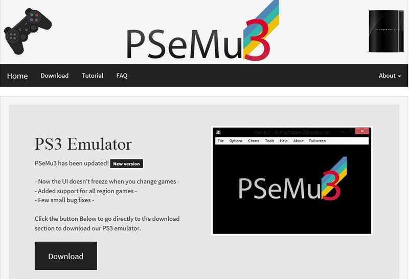 Wirkt auf den ersten Blick vertrauenswürdig: Die Webseite mit dem PSeMu3-Download.