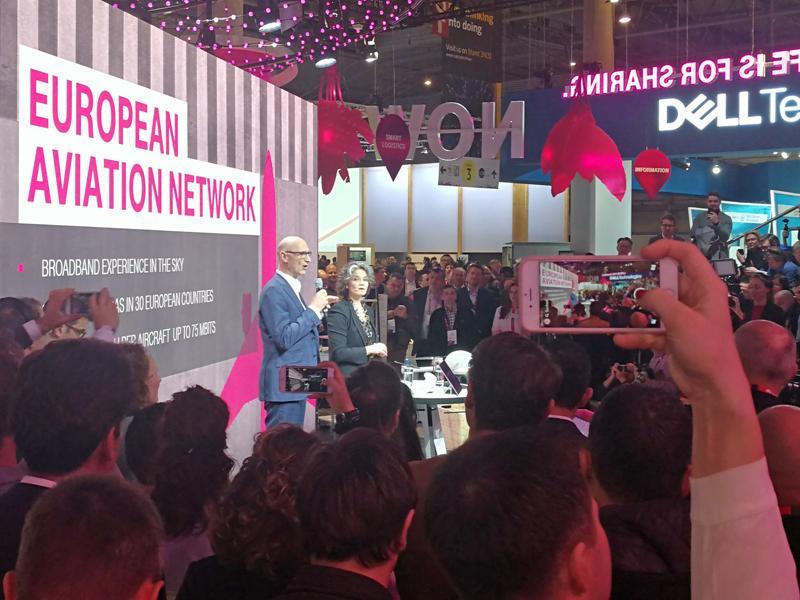 Schon auf dem Mobile World Congress in Barcelona hatte Höttges die mögliche Fusion vehement kritisiert.