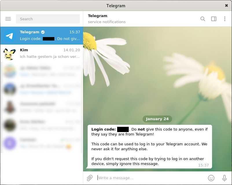 Es gibt auch einen Desktop-Client für Telegram. Ein Smartphone samt Telefonnummer braucht man trotzdem.
