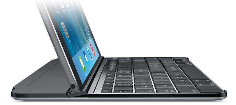Größte Neuerung bei der neuen Ultrathin-Ausführung: Der iPad-Blickwinkel lässt sich anpassen