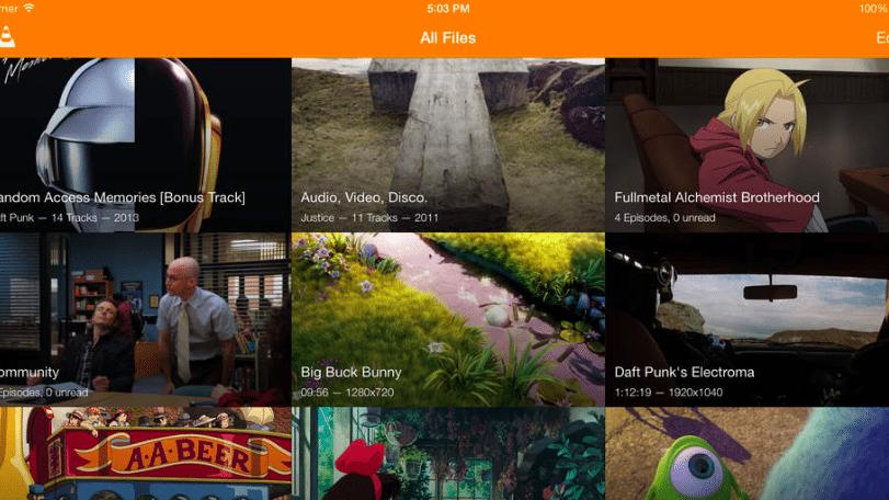 Viele Neuerungen für VLC-App
