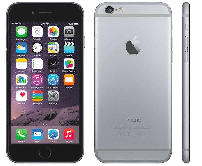 Das iPhone 6 von allen Seiten