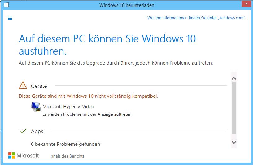 Ob Windows 10 auf einem PC laufen wird, lässt sich schon heute überprüfen.