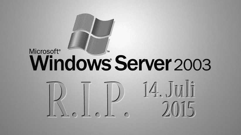 Support-Ende beim Windows Server 2003