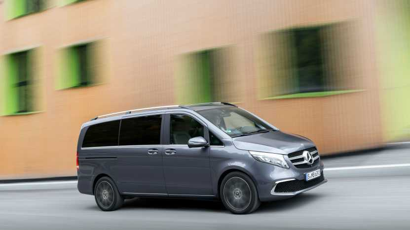 Elektroautos: Mercedes-Benz' V-Klasse soll auch als E-Modell kommen
