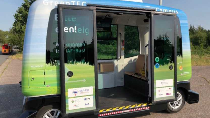 Brandenburg: Erster Probebetrieb mit selbstfahrendem Bus startet bald