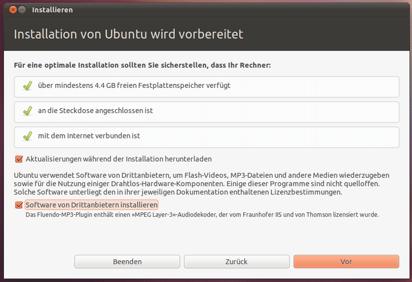 Der Ubuntu-Installer Ubiquity wurde weiter vereinfacht.