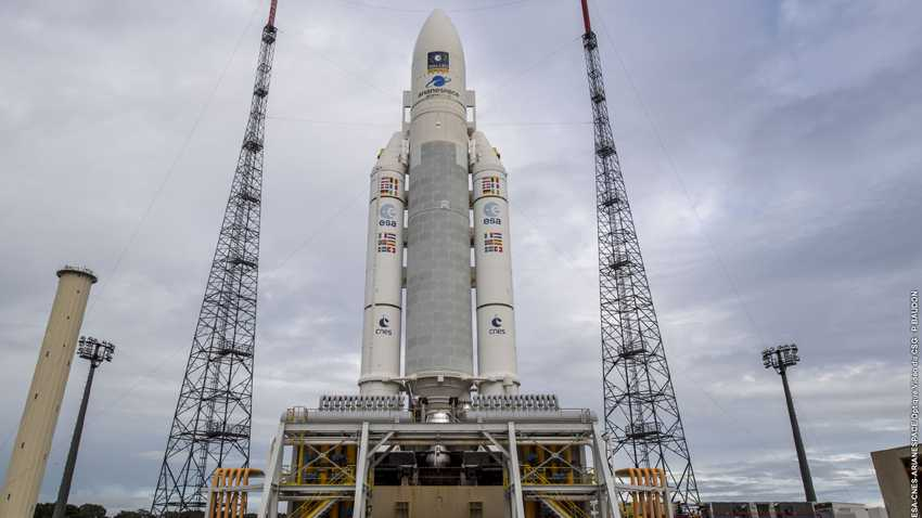 Europäisches Navigationssystem Galileo: Noch einmal vier Satelliten gestartet