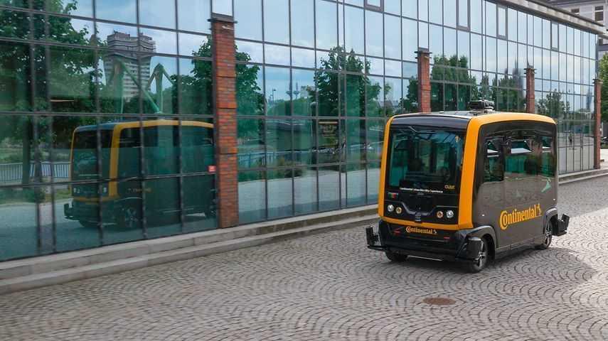 CUbE: Continental testet Roboter-Taxi