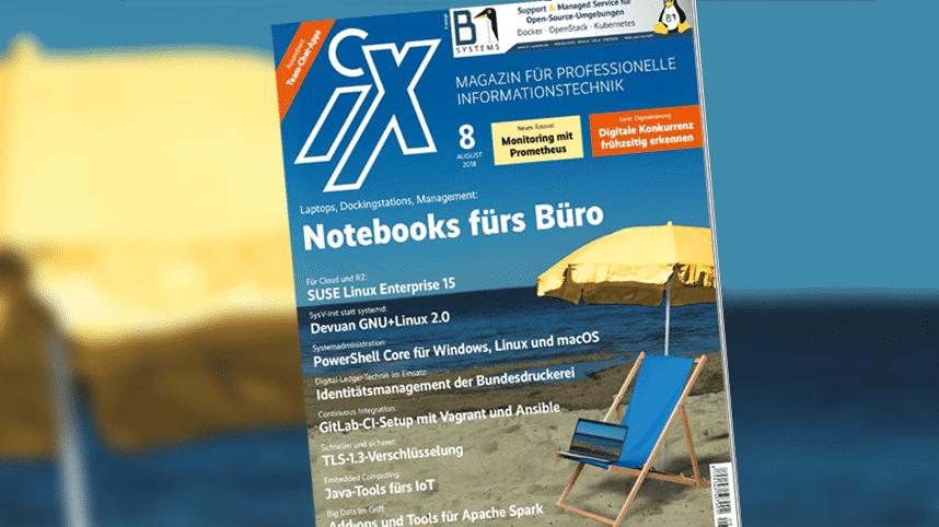 iX 8/2018: Bürotaugliche Laptops