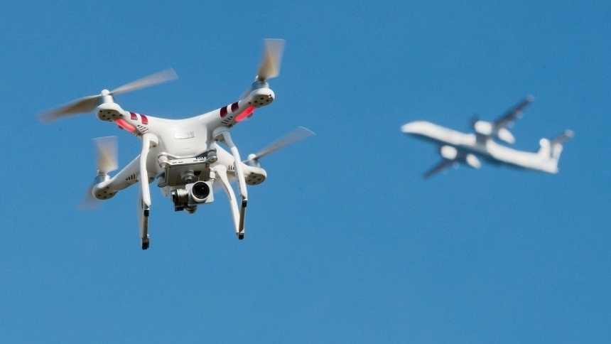 Drohnen stören zunehmend den Flugverkehr