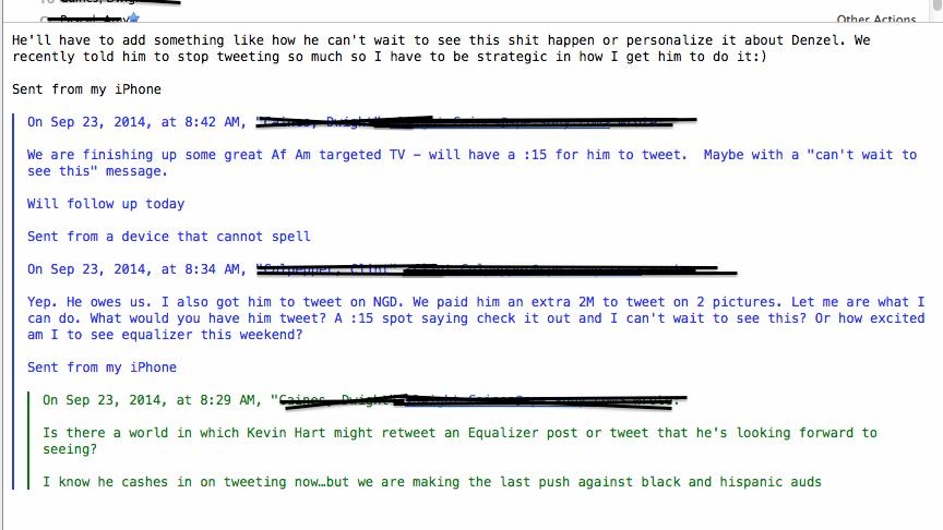 Screenshot eines E-Mails