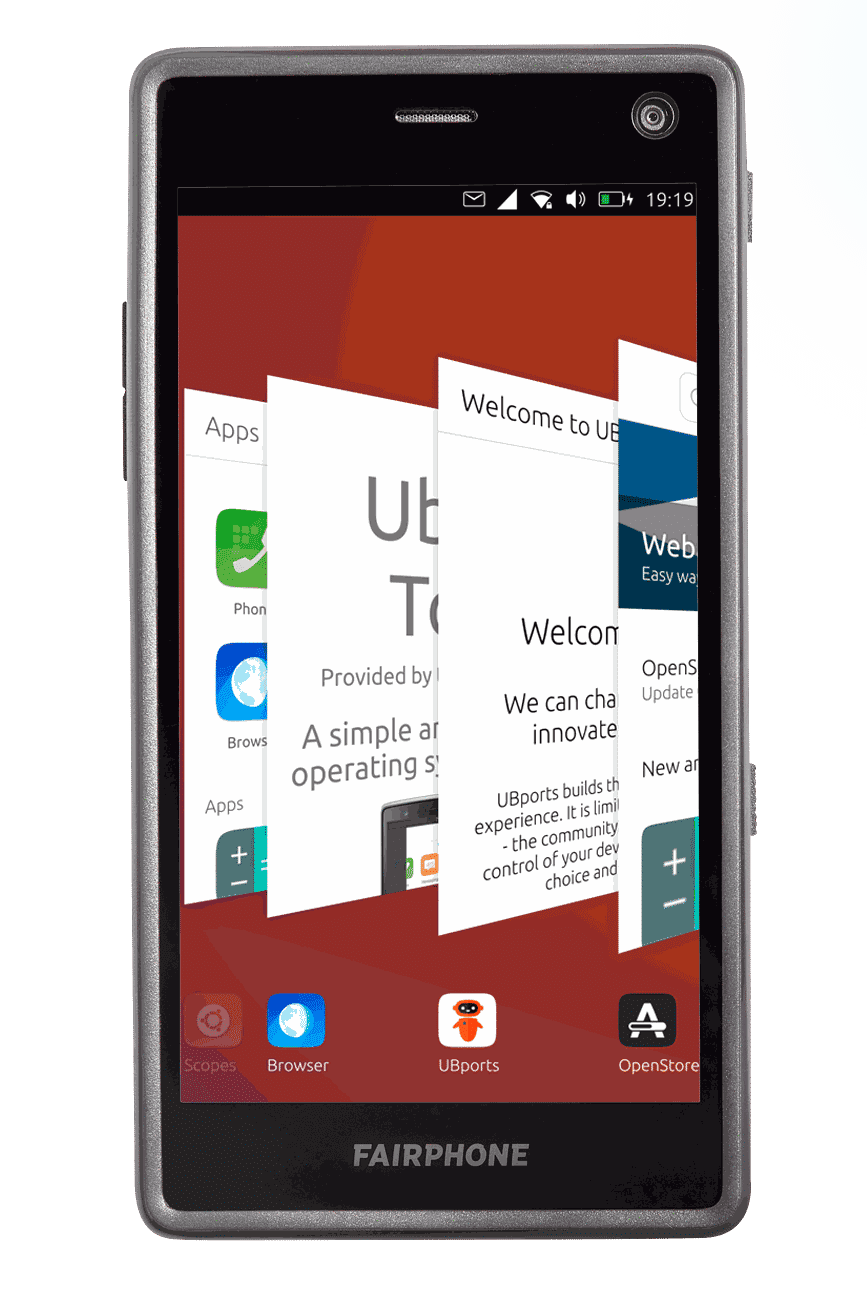Fairphone 2 mit Ubuntu Touch