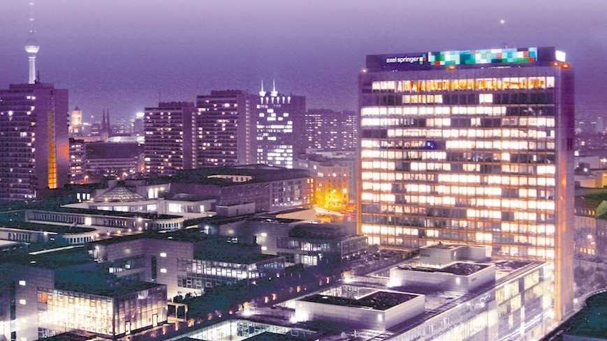 Onlineportale halten Axel Springer auf Kurs