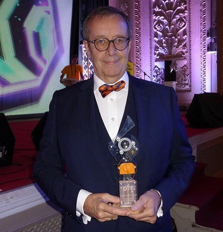 Toomas Hendrik Ilves erhielt den 1. Digital Freedom Award
