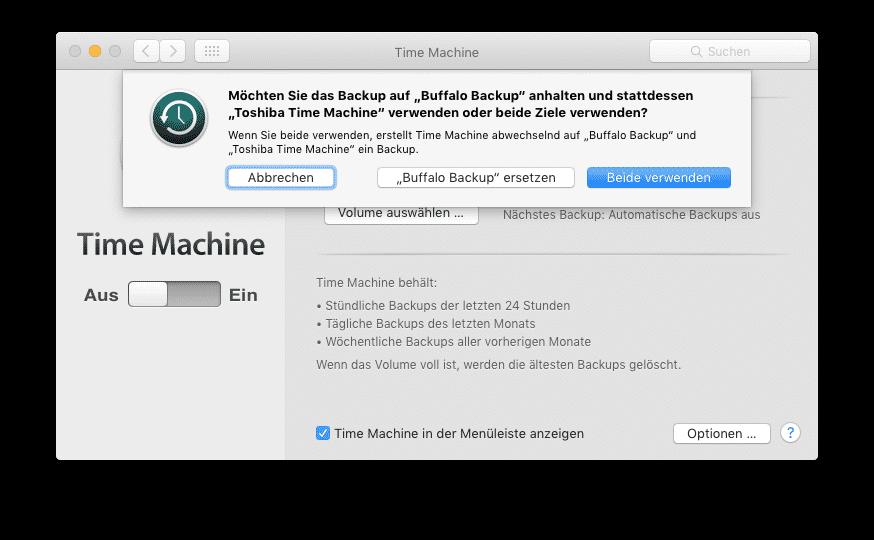 Erpressungs-Trojaner: Time-Machine-Backups anfällig