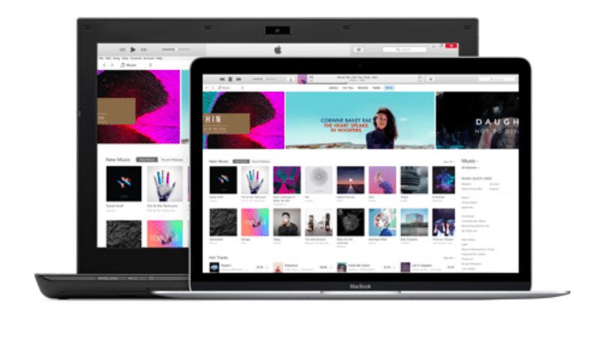 iTunes auf Mac und PC