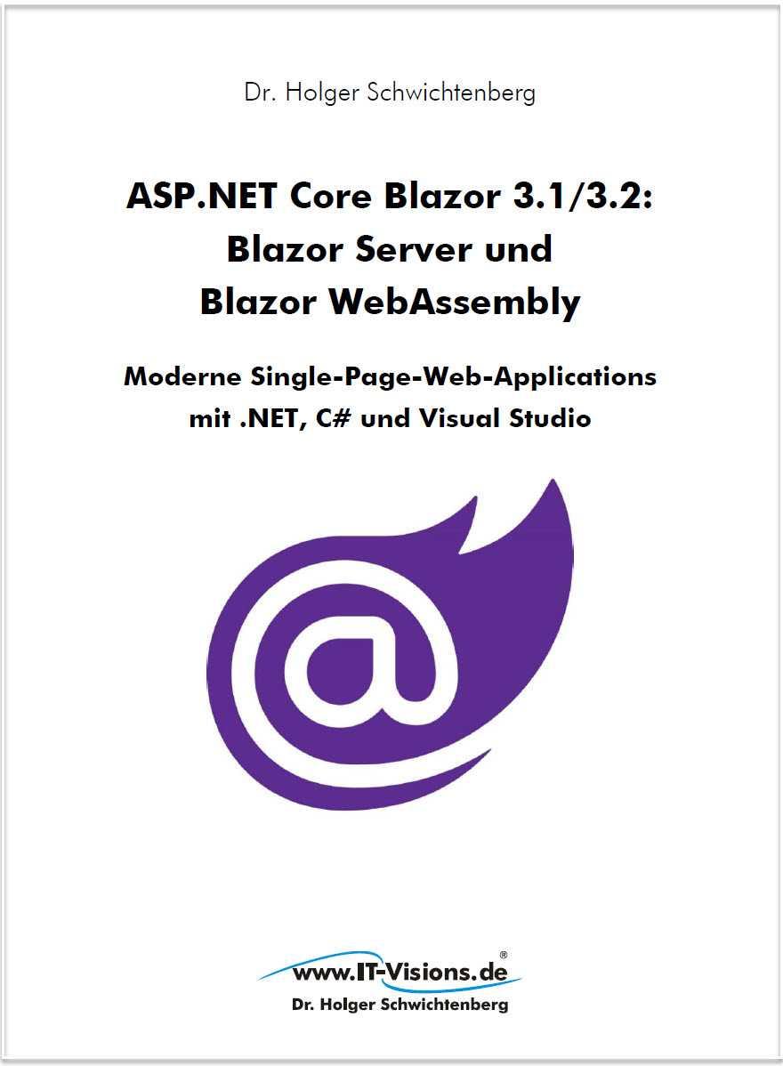 Buch zu Blazor WebAssembly und Blazor Server
