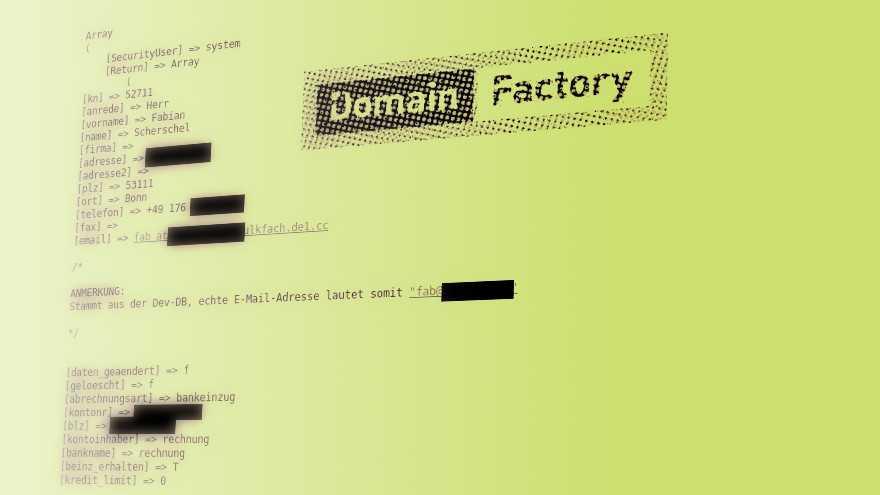 Nach Domainfactory-Hack: Forum down, Angreifer auf freiem Fuß