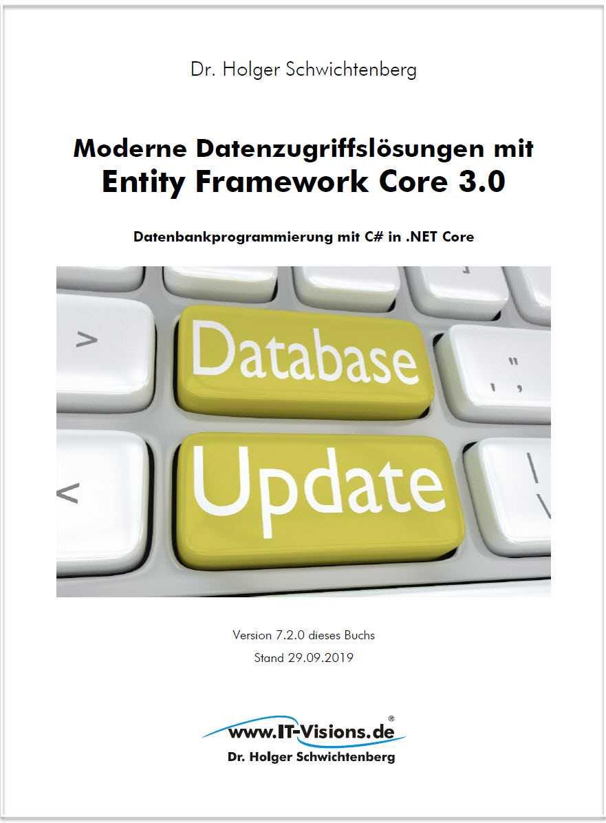 Fachbuch Entity Framework Core 3.0 von Dr. Holger Schwichtenberg