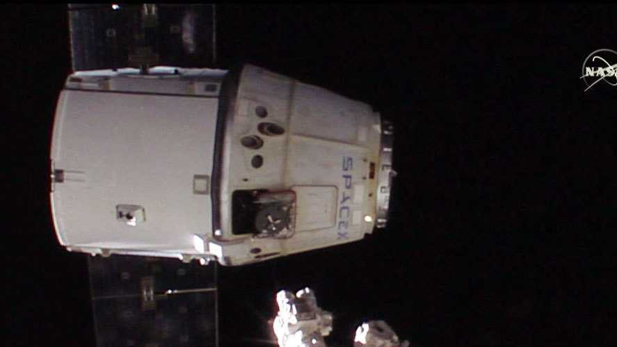 Raumfrachter Dragon von der ISS abgedockt und im Pazifik gelandet