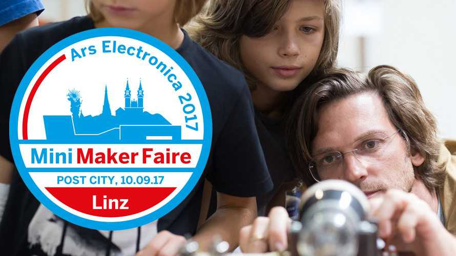 Maker auf der ars electronica: Mini Maker Faire Linz