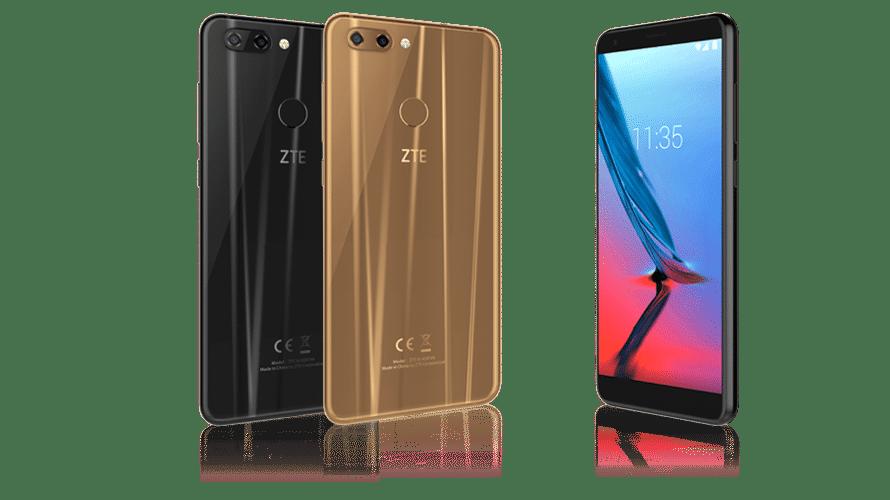 ZTE Blade V9: Mittelklasse-Smartphone mit Android 8.1 für 269 Euro
