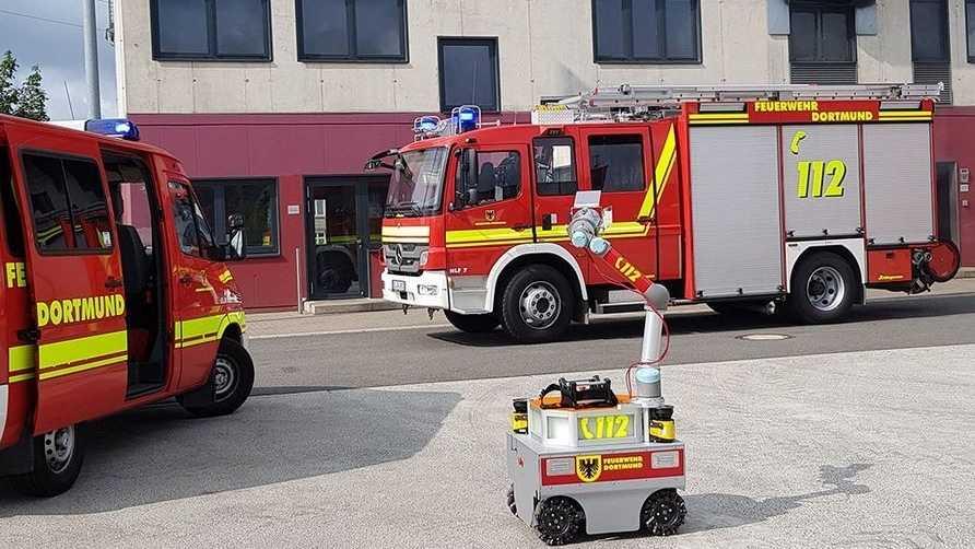 Deutsches Rettungsroboter-Zentrum in Dortmund eröffnet