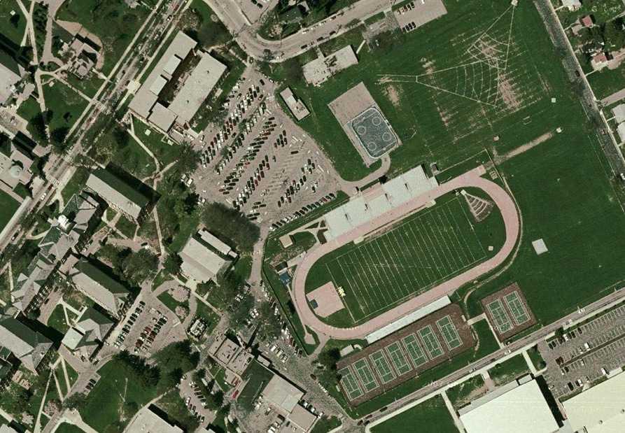 Universität von Kutztown in Google Maps