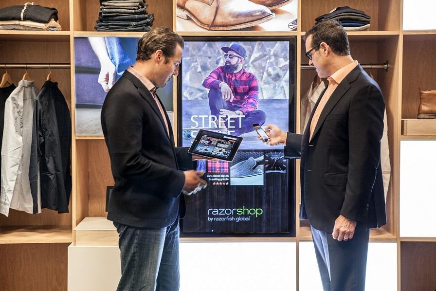 Eine Chance für den stationären Handel: Der Razorshop soll lokalen und Online-Shop verbinden.