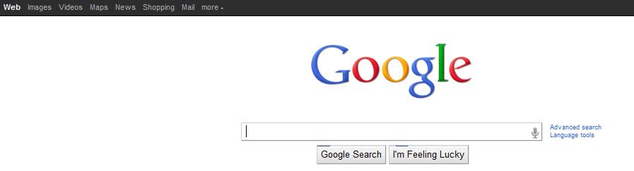 Googles neues Design