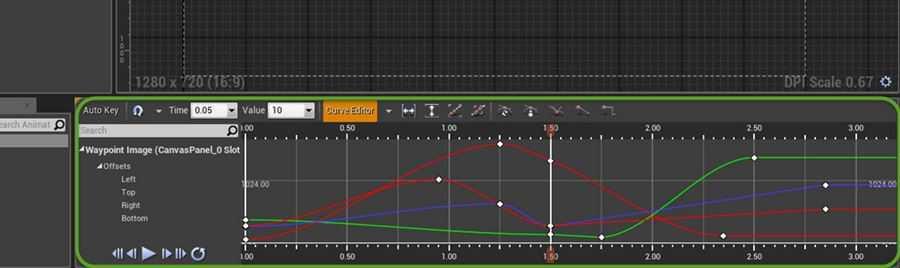 Beim Bearbeiten von Animationen soll in Zukunft der Curve Editor helfen.