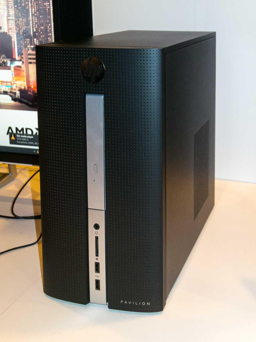 Im HP Pavilion 510 steckt bereits die Desktop-Variante von Bristol Ridge mit der Fassung AM4.