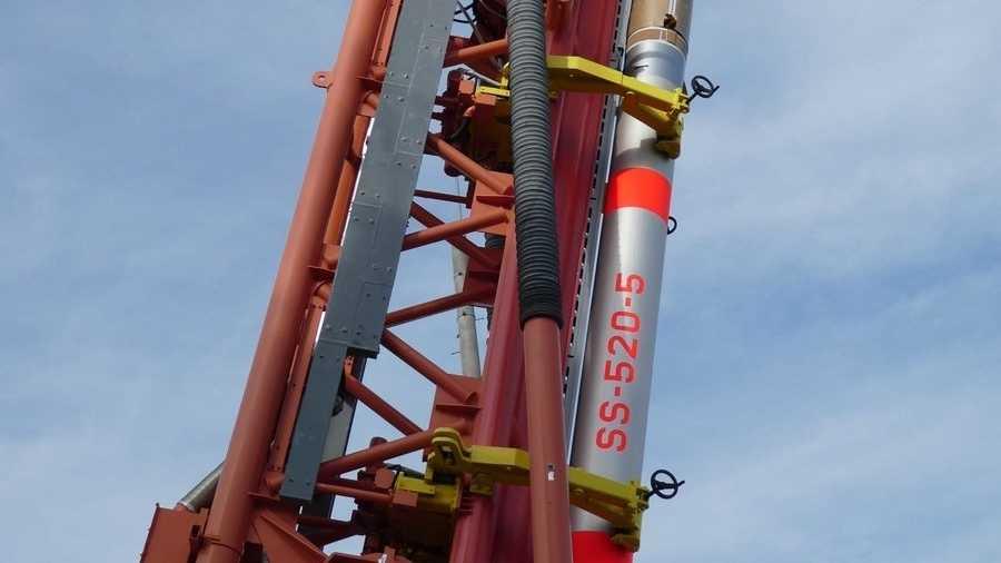 SS-520-5 von Jaxa: Die kleinste Rakete, die je einen Satelliten ins All befördert hat