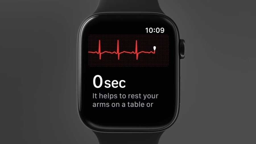 EKG auf der Apple Watch Series 4