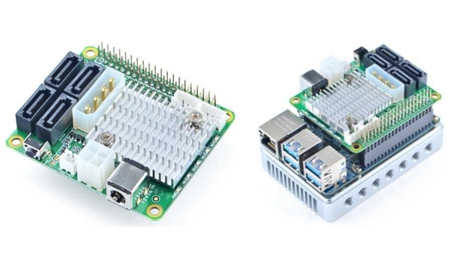 SATA-Adapter fürs selbst gebaute Rockchip-NAS