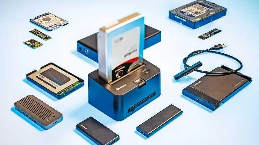 USB-Gehäuse für Festplatten und SSDs im Test