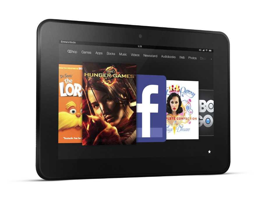 Beim Fire HD 8,9 Zoll hat Amazon sowohl die Hardware-Ausstattung, als auch die Oberfläche aufgefrischt.