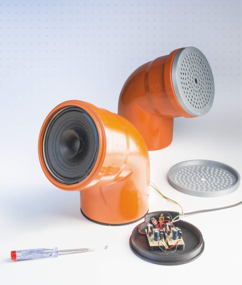Musik aus dem abflussrohr make magazin heise select - Kg rohr durchmesser tabelle ...
