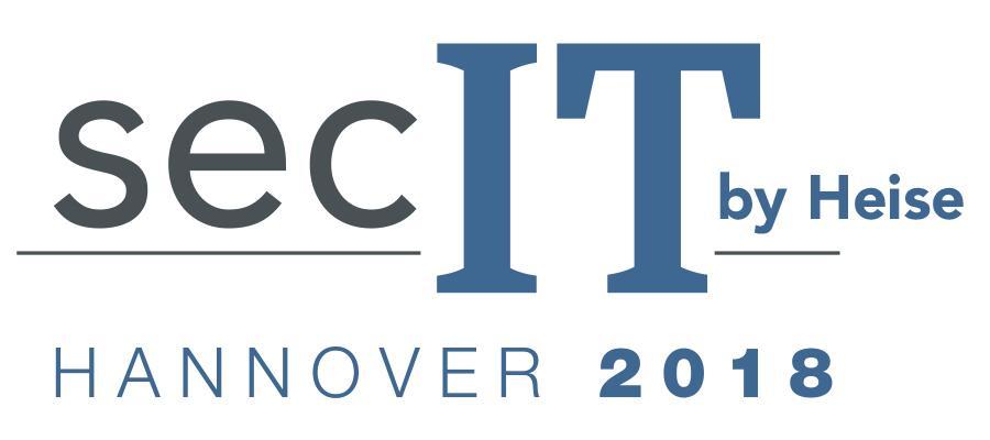 2018 öffnet die von heise Security, c't und iX veranstaltete secIT das erste Mal ihre Türen in Hannover.