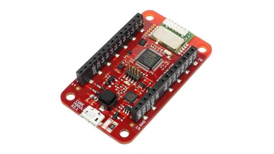 Big Clown Core Module 2: ein rotes Board