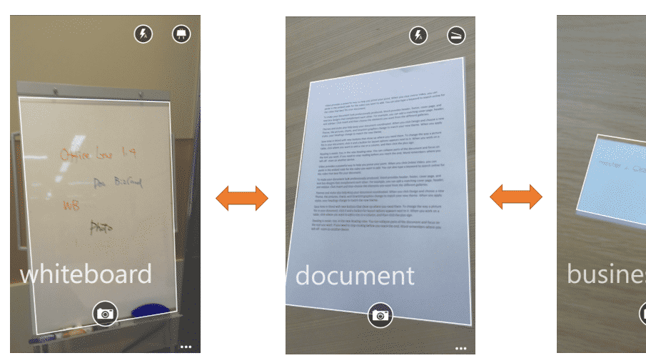 Microsoft erweitert Office Lens mit automatischer Dokumentenerkennung