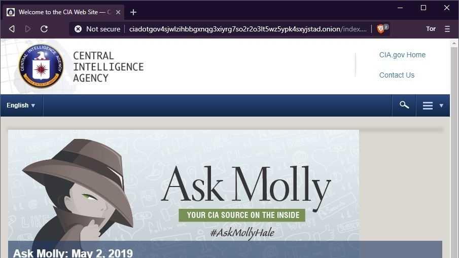 Geheimdienst im Anonymisierungsnetz: CIA-Webseite jetzt über Tor erreichbar