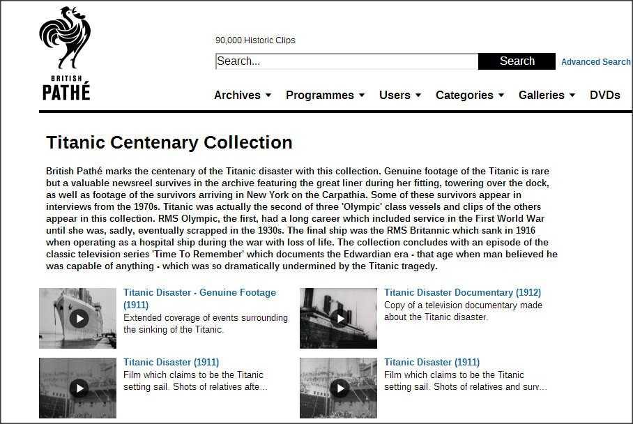 Ab dem 15. April sollen die rund 80.000 historischen Videos des British Pathé Archive bei YouTube zu sehen sein.