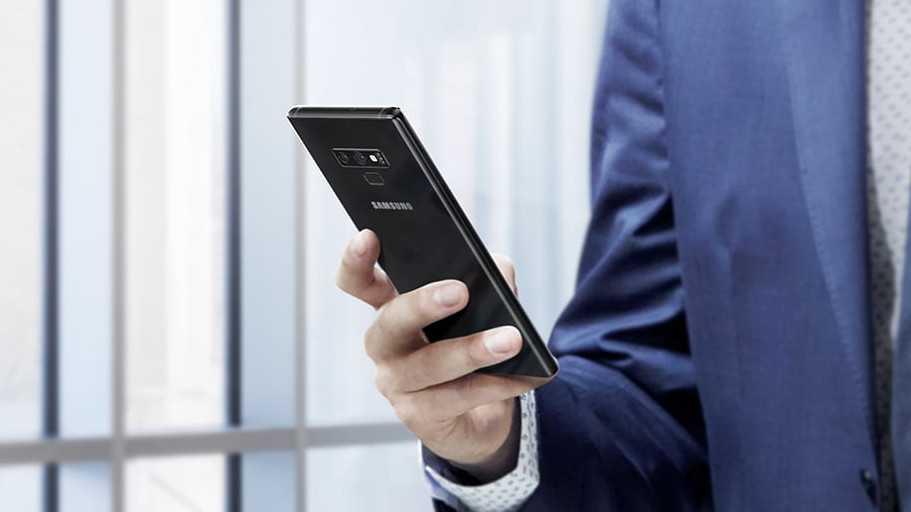 Samsung Galaxy Note 9 erscheint als Enterprise Edition