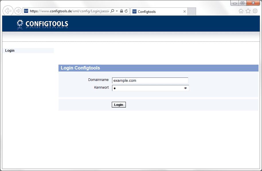 Sesam öffne Dich: Die Adminkonsole konnte mit jedem Passwort entsperrt werden, das mindestens 1 Zeichen lang ist.